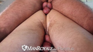 ManRoyale – Innocent massage turns into sloppy fuck with facial